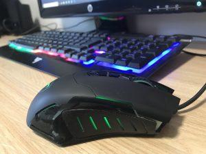 Lights Computer keyboard gaming computer mousepad